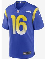 Nike Nfl Los Angeles Rams Game Football Jersey - Blue