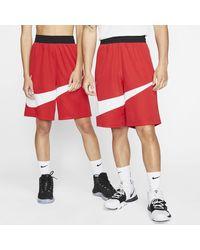 Nike Dri-FIT Basketballshorts - Rot
