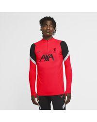 Nike - Maglia da calcio per allenamento Liverpool FC VaporKnit Strike - Lyst