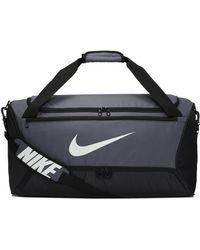 Nike Brasilia Medium Duffel Bag - Grey