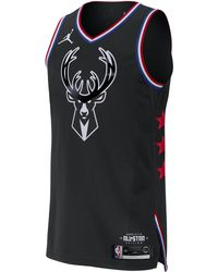 39eac04bdbf67d Nike - Giannis Antetokounmpo All-star Edition Authentic Jordan Nba  Connected Jersey - Lyst
