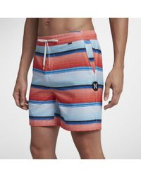 Nike - Boardshort Hurley Baja Volley 43 cm pour Homme - Lyst