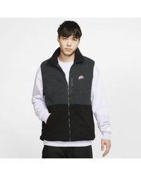 Nike Sportswear Sherpa Fleece Vest - Black