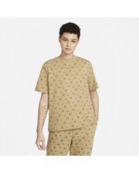 Nike T-shirt stampata Sportswear - Marrone