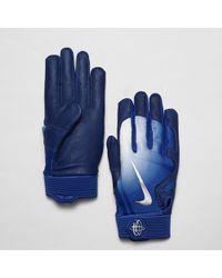 890796e5e527 Lyst - Nike Mvp Elite Pro 2.0 Baseball Batting Gloves in Red for Men