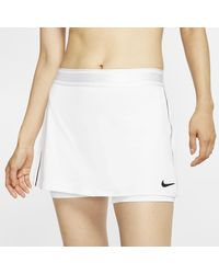 Nike Court Dri-fit Tennis Skirt (white) - Clearance Sale