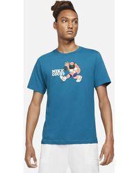 Nike - Court Tennis T-shirt Blue - Lyst