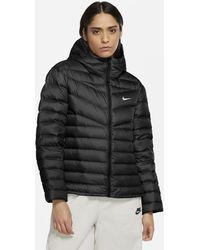 Nike Sportswear Down-fill Windrunner Jacket Black