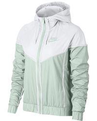 33ef7e01141f Lyst - Nike Sportswear Windrunner Women s Jacket in Purple
