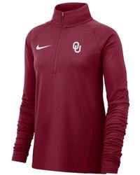 Nike - College Therma (oklahoma) Long-sleeve 1/2-zip Top - Lyst