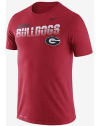 Nike - College Dri-fit Legend (georgia) T-shirt - Lyst