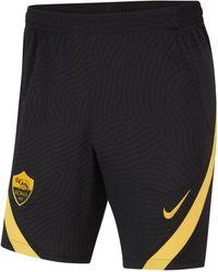 Nike Shorts da calcio A.S. Roma Strike - Nero