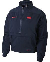 Nike - Haut de footballà 1/4 de zip FFF pour - Lyst