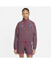 Nike Paris Saint-germain Woven Jacket Red