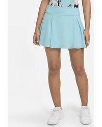 Nike Club Skirt Short Tennis Skirt - Blue