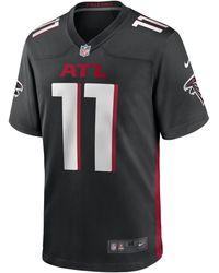 Nike NFL Atlanta Falcons (Julio Jones) American-Football-Spieltrikot - Schwarz