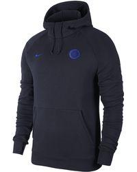 7494e16d7 Nike 2018-2019 Chelsea Anthem Jacket Men's Sweatshirt In Blue in Blue for  Men - Lyst