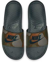 Nike - Benassi JDI Printed Herren-Badeslipper - Lyst