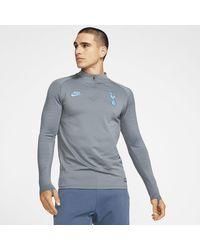 Nike Tottenham Hotspur Strike Drill-Fußballoberteil für - Grau