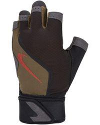 Nike Shield -Laufhandschuhe - Schwarz