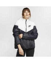 Nike Sportswear Synthetic-fill Windrunner Jacket - White