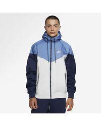 Nike Sportswear Windrunner Hooded Windbreaker - Grey