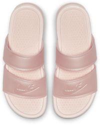Nike Benassi Duo Ultra Slide Shoes - Pink
