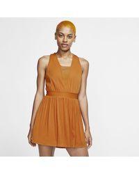 Nike Court Dri-fit Maria Tennis Dress - Brown
