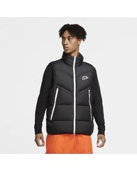Nike Smanicato Sportswear Down-Fill Windrunner - Nero