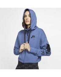 3368046d6dfe Nike - Air Full-zip Fleece Hoodie - Lyst