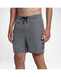 Nike Hurley One And Only Heathered Volley 2.0 -Boardshorts (ca. 43 cm) - Schwarz