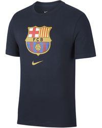Nike FC Barcelona -T-Shirt - Blau