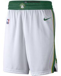 Nike - Boston Celtics City Edition Swingman Nba Shorts - Lyst