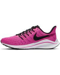 Nike Air Zoom Vomero 14 Running Shoe - Pink