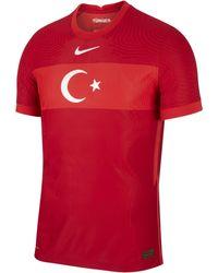 Nike - Turkey 2020 Vapor Match Away Football Shirt Red - Lyst