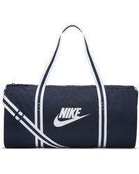 Nike Heritage Duffel Bag - Blue