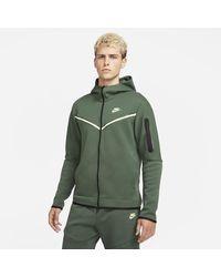 Nike Tech Fleece Full-zip Hoodie - Green