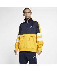 0fe6e1e78 Nike Air Half-zip Jacket in Gray for Men - Lyst