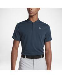 faec25b02 Lyst - Nike Aeroreact Men s Slim Fit Golf Polo Shirt in Gray for Men