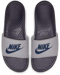 Nike Ciabatta Benassi JDI - Grigio