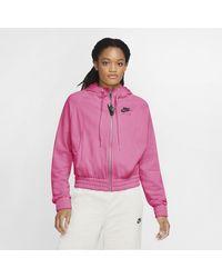 Nike Felpa con cappuccio Air - Rosa