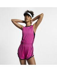 Nike Dri-FIT Lauf-Romper für - Rot