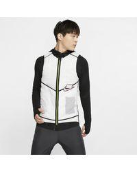 Nike Aerolayer Wild Run Running Vest - White