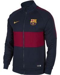 Fc Barcelona Jacket Blue