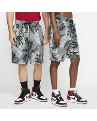 Nike Jordan Jumpman Printed Knit Shorts - Black
