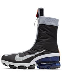 Nike Air Vapormax Flyknit Gaiter Ispa Shoe - Black