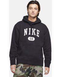 Nike Felpa da skateboard con cappuccio SB - Nero