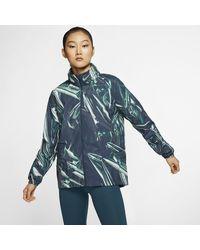 Nike Shield Full-zip Running Jacket - Blue