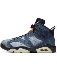 Nike Air Jordan 6 Retro Shoe - Blue