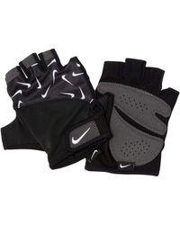 Nike Guanti da training stampati Gym - Nero